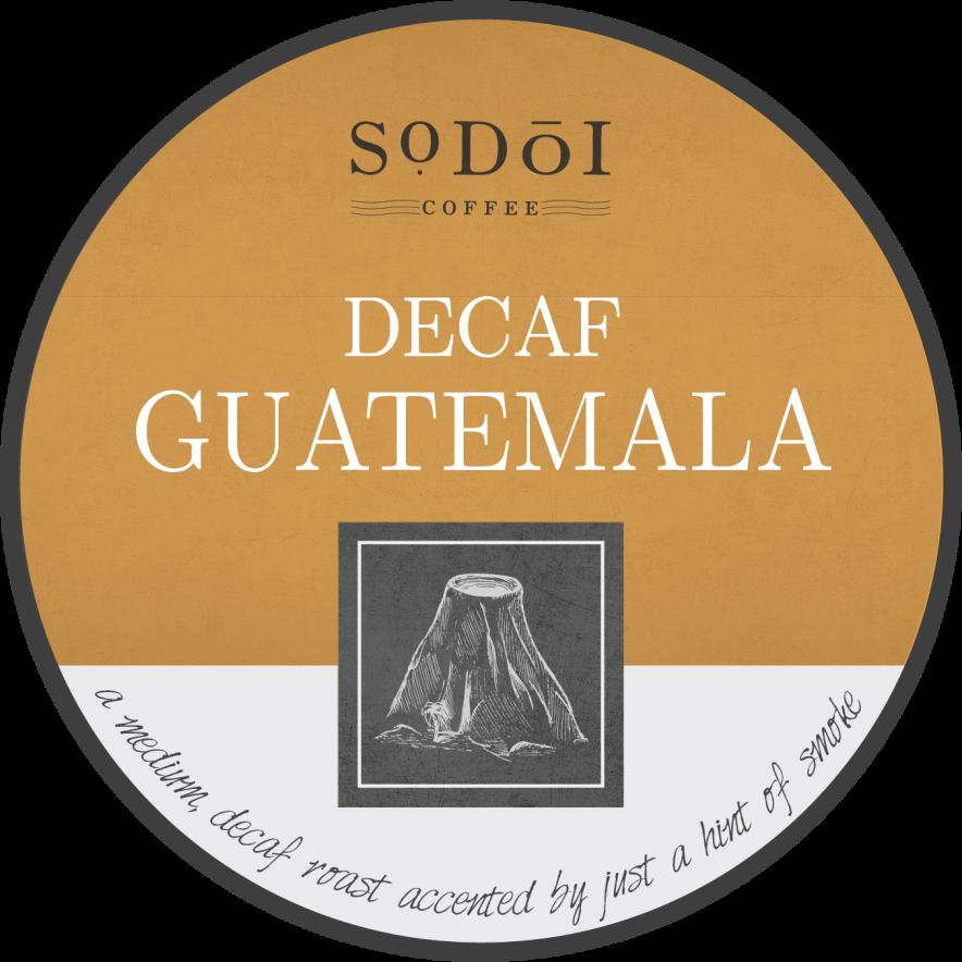 Decaf Guatemala - Sodoi Coffee
